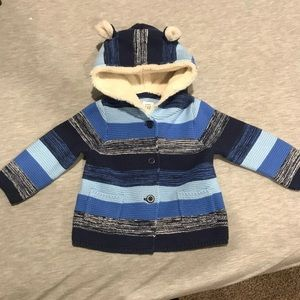 NWT BABY GAP ADORABLE sweater jacket 6-12 mos